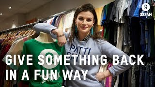 Aisling Bea Joins the Team at Islington Oxfam shop | Oxfam GB