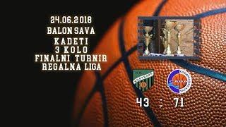 kk kolubarala2003 kk sava2 (kadeti 2, 24 06 2018 ) košarkaški klub sava