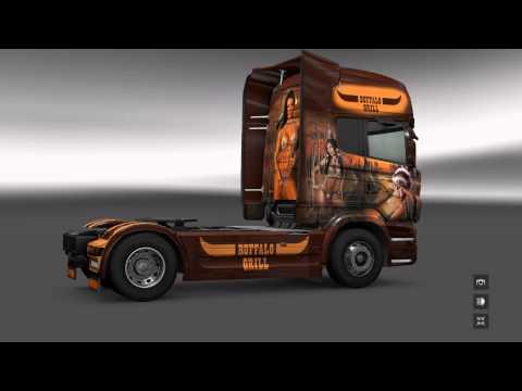 Pack Buffalo Grill Trucks&Trailer 1.16.x