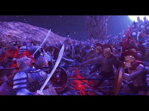 FINALE - 300 Spartans VS 20,000 Persians FINALE (Spartan Shield Wall) - Ultimate Epic Battle Simulator