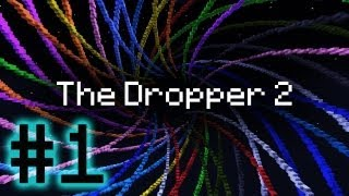 Minecraft The Dropper 2 - Epic Mage Tower! #1