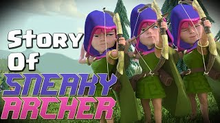 Video Clash of Clans Story - Where did the Sneaky Archer Come From? (Archer Queen Story Part 3) CoC Story MP3, 3GP, MP4, WEBM, AVI, FLV November 2017