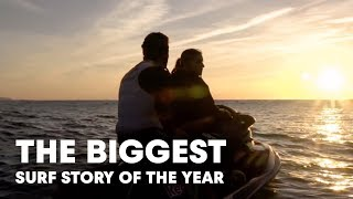 Video The Biggest Surf Story of the Year - Maya Gabeira's Brush with Death MP3, 3GP, MP4, WEBM, AVI, FLV November 2018