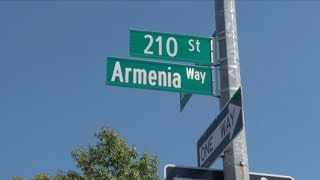 """Armenia Way"" Street Opens in Queens, New York"