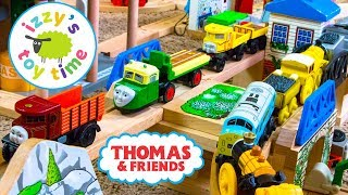 Thomas and Friends ROAD TRACK with Alfie and Brio! Thomas Train Fun Toy Trains for Kids