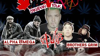 Cannabis Culture Lounge Chief & Greet w/ Alpha Omega, Adlib & Brothers Grimm by Pot TV