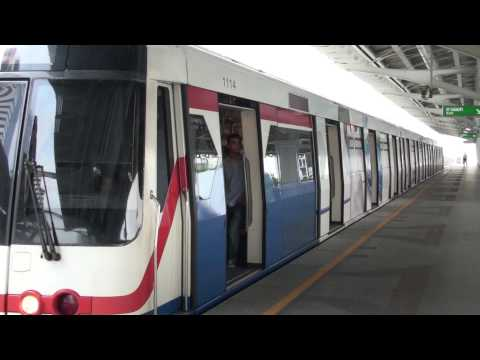 BTS - Bangkok Mass Transit System (BTS) Sky Train HD Video. Sony SR10E, AVCHD Files.