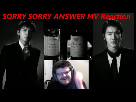 😱 BEST SONG EVER MADE?! 😱 FIRST Reaction to SUPER JUNIOR 슈퍼주니어 Sorry Sorry Answer MV