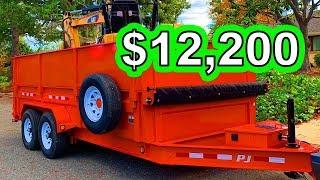4. Bought a New Dump Trailer for $12,200 (2019 7x16 14k PJ Dump)