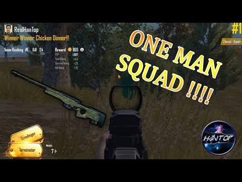 (24 KILLS) SOLO Vs SQUAD - PUBG Emulator (Indonesia)