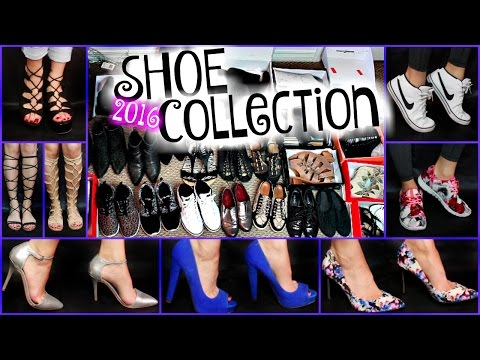 MY HUGE Shoe Collection!! Designer Shoes, Nikes + MORE!   SylviaGani