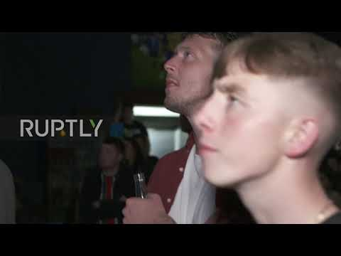 Ireland: Fans clutch heads in despair as McGregor loses to Khabib