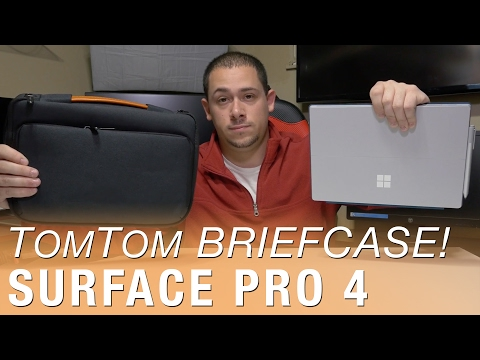 Review: TomToc Briefcase for Surface Pro - It's also super soft inside!