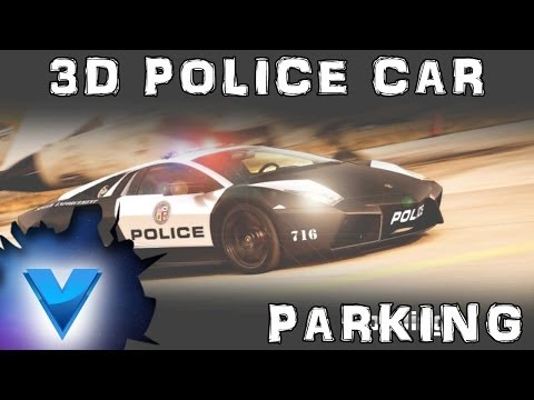Video of 3D Police Car Parking