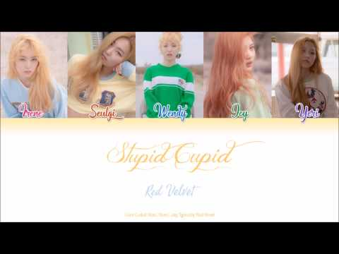 Red Velvet (레드벨벳) — Stupid Cupid (Han|Rom|Eng Color Coded Lyrics by Red Heart) видео