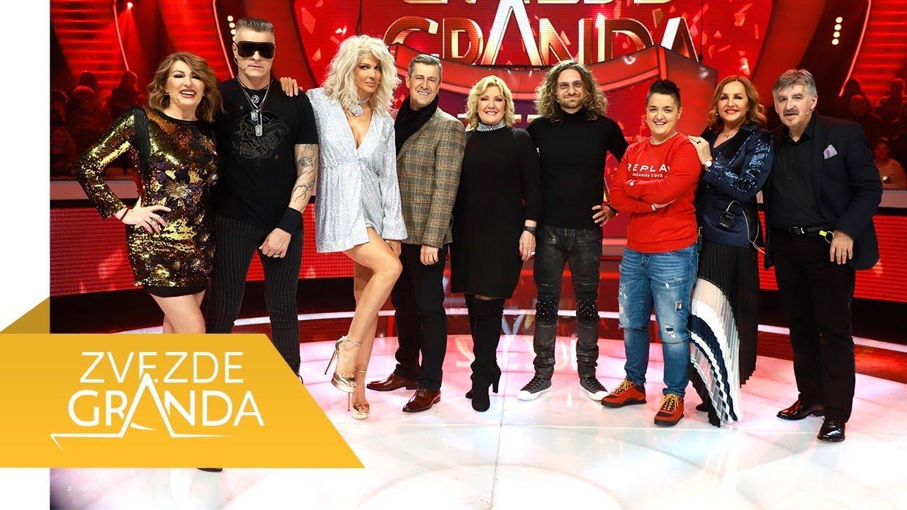 ZVEZDE GRANDA 2020 – cela 19. emisija (25. 01.) – devetnaesta epizoda – snimak