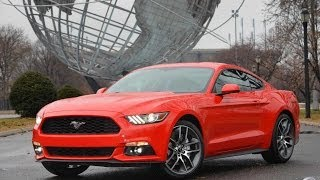 Ford Mustang 2015 Exterior Design