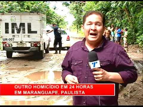 [RONDA GERAL] Homicídio em Maranguape 1, Paulista
