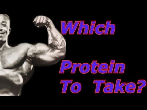 Which Protein To Take?  – Bodybuilding Tips To Get Big