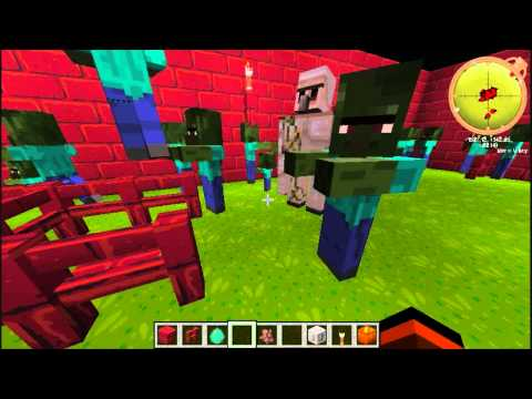 The Minecraft Zombie Virus This Aint Your Grandpa Monster Movie