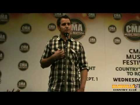Easton Corbins CMA Fest 2010 Interview