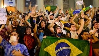 Protestors Put The Pressure On The Brazilian Government