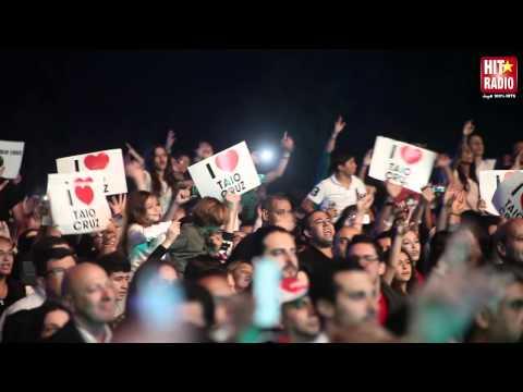 REPORTAGE LIVE DE TAIO CRUZ A MAWAZINE 2013 - HIT RADIO