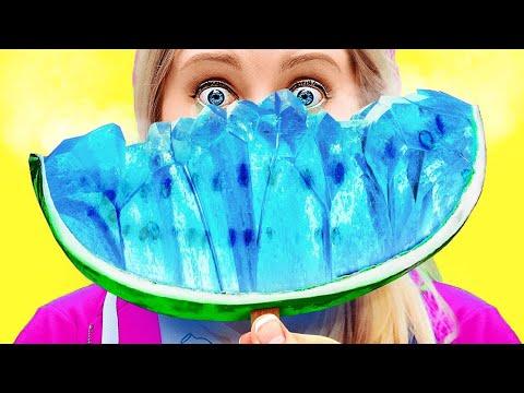 EXTREM EISIGE FOOD-CHALLENGE! || Coole Food-Challenges und lustige Tricksvon 123 Go Like!