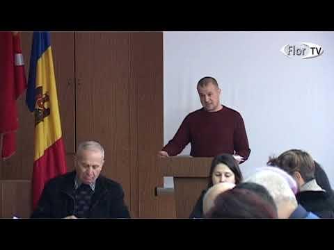 Sedința a Consiliului orașenesc Florești din 13 12 2017