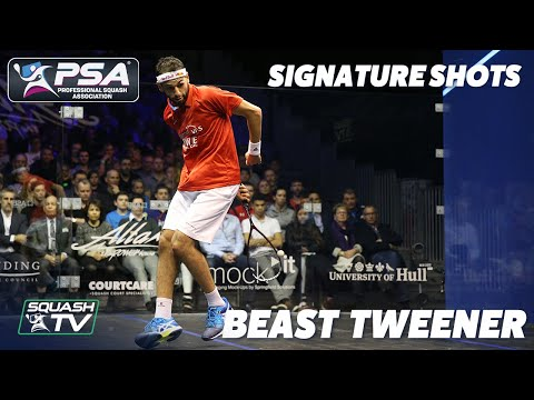 Squash: Signature Shots - Mo ElShorbagy Beast Tweener