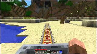 Minecraft Update - Power Rails + Detector Rails [GERMAN]