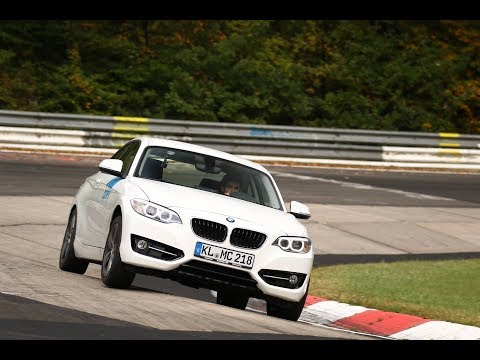 My first time driving in the Nurburgring Nordschleife!! -  Apex BMW 218 Ft Misha Charoudin