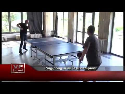 Ping-pong si au iesit campioni!