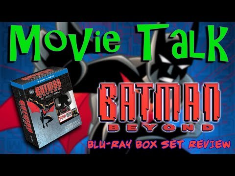 Batman Beyond blu-ray box set unboxing and review