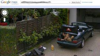 10 Weirdest Things on Google Street View - YouTube