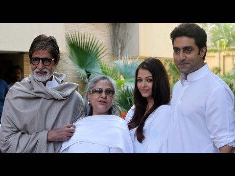 Bachchan Family Donates For The Girl Child