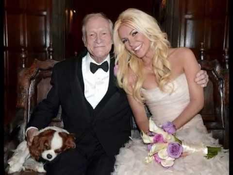 Playboy mogul Hugh Hefner Marries 26-year-old Crystal Harris