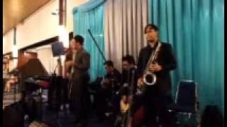 piano, jazz and me!   malam biru   sandy sandoro