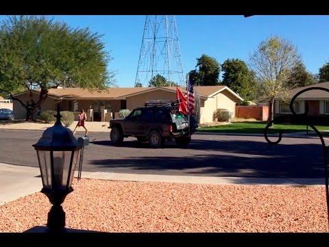 My redneck neighbors epic street battle