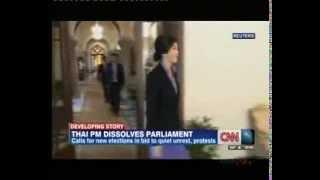 Thailand's PM Yingluck Shinawatra Dissolves Parliament