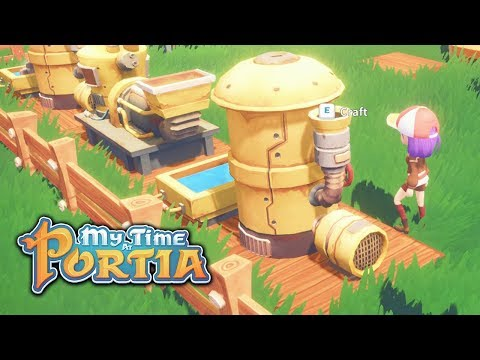 Go Go Generator!!! - My Time At Portia (Alpha 4.0) – Part 85