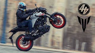 4. 2020 Yamaha MT-03 + MT-125 Review