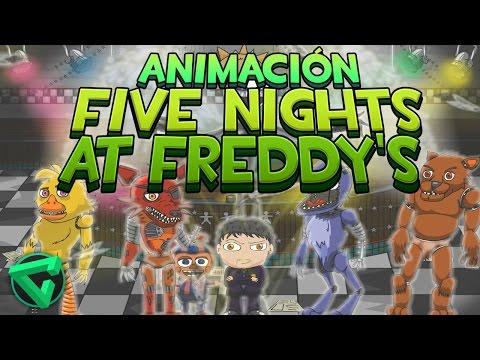 "FIVE NIGHTS AT FREDDY'S ANIMACIÓN - ""iTownGamePlay Animado"" (FNAF Animation)"