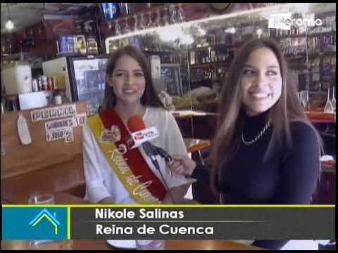 Visitamos la hueca favorita de la Reina de Cuenca, Nikole Salinas