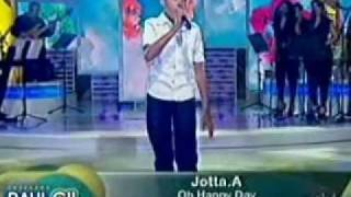 Jota A Oh Happy Day No Raul Gil Dia 20/08/2011.