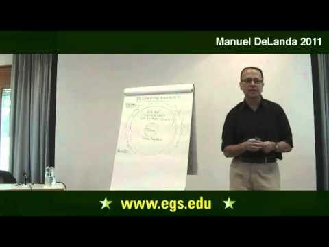 Manuel DeLanda. Ein Materialist Geschichte der Städte. 2011