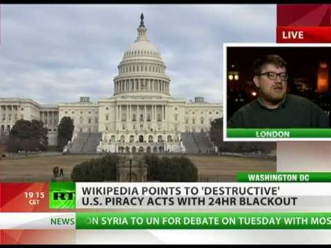 sopa blackout - The world's most popular online encyclopedia, Wikipedia, is going on strike on Wednesday. The