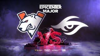 Virtus.pro vs Team Secret, EPICENTER Major, bo3, game 1 [Smile & Eiritel]