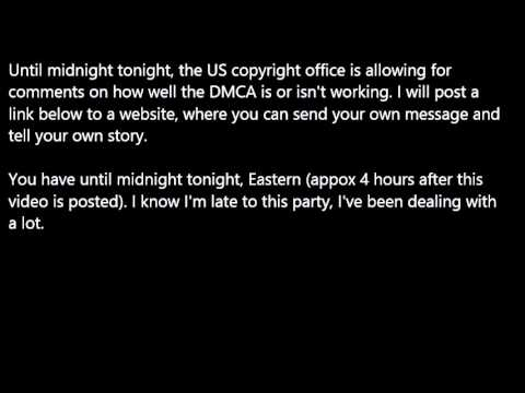 An Open Letter to the US Copyright Office (#WTFU)