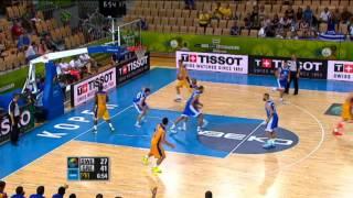 Dunk of the Game K. Papanikolaou SWE-GRE EuroBasket 2013